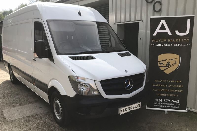 MERCEDES SPRINTER 313 CDI LWB High Roof